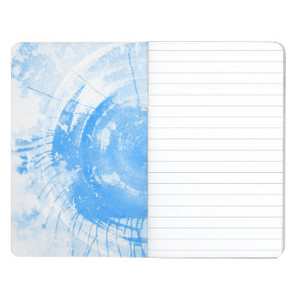 Abstract blue watercolor background, texture. 2 journal