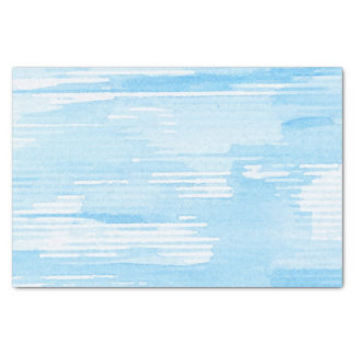 Abstract blue watercolor background, texture. 2 tissue paper