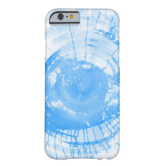 Abstract blue watercolor background, texture. barely there iPhone 6 case
