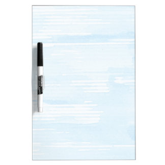 Abstract blue watercolor background, texture. Dry-Erase board