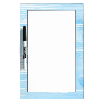 Abstract blue watercolor background, texture. Dry-Erase whiteboards