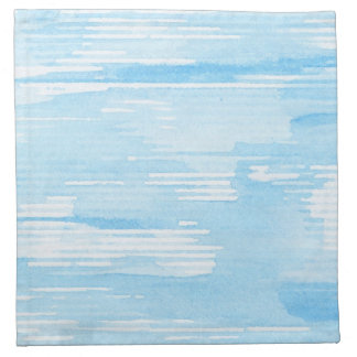 Abstract blue watercolor background, texture. napkin