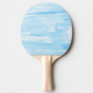 Abstract blue watercolor background, texture. ping pong paddle