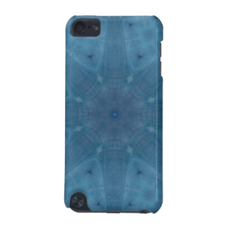 Abstract blue wood iPod touch 5G covers