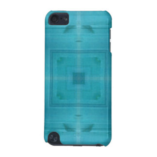Abstract Blue Wood Pattern iPod Touch 5G Covers