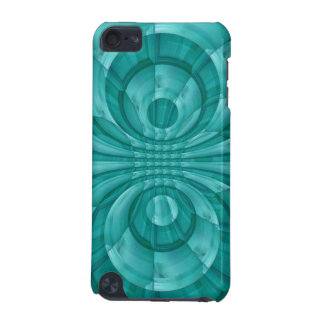 Abstract Blue Wood Pattern iPod Touch (5th Generation) Case