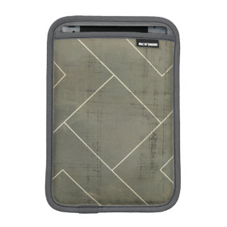 Abstract Blueprint with Geometric Shapes iPad Mini Sleeve