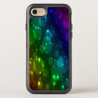 Abstract blur circles OtterBox symmetry iPhone 8/7 case