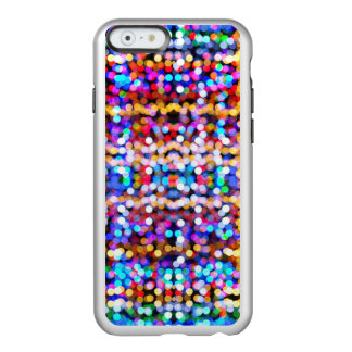 Abstract Bokeh Bright Coloured Lights Pattern Incipio Feather® Shine iPhone 6 Case