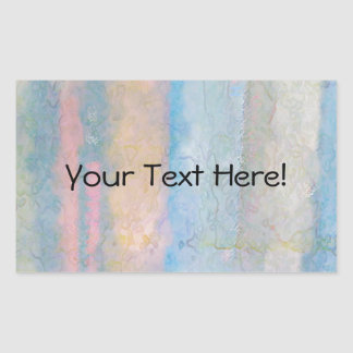 Abstract Books Rectangle Stickers