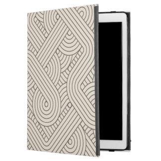 "Abstract border iPad pro 12.9"" case"