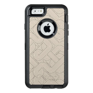 Abstract border OtterBox defender iPhone case