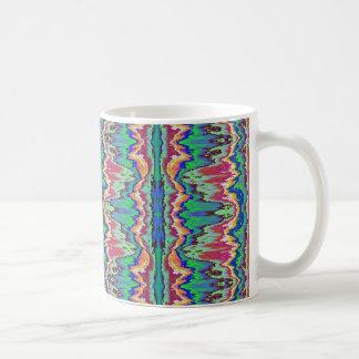Abstract borders coffee mugs