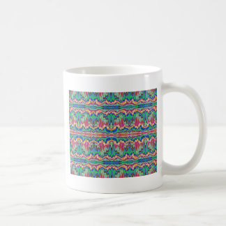 Abstract borders coffee mug