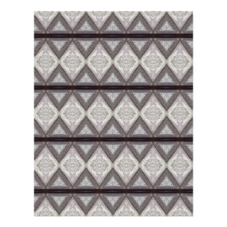 Abstract boring pattern personalized flyer