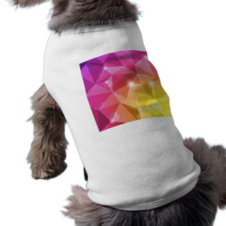 Abstract Bright Background Vector Illustration Sleeveless Dog Shirt