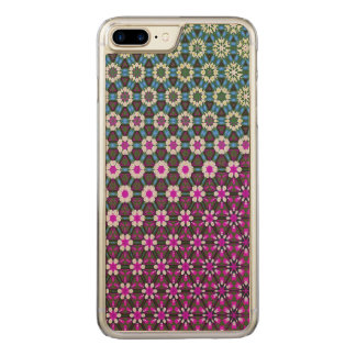 Abstract bright floral pink pattern No12 Carved iPhone 8 Plus/7 Plus Case