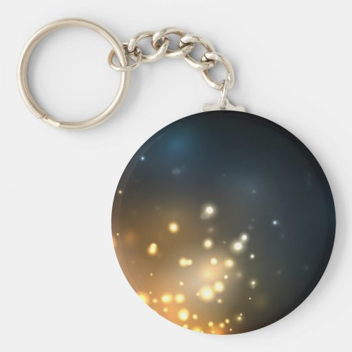 Abstract Bright Glow Key Chains