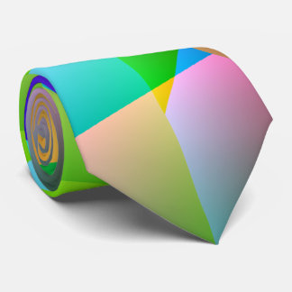 Abstract Bright Tie