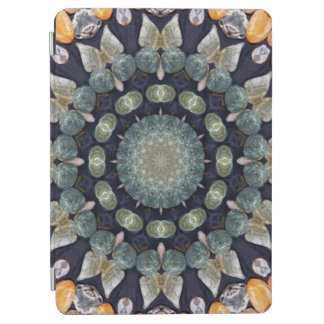 Abstract Brown Kaleidoscope iPad Air Cover