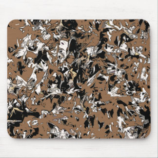 Abstract Brown Mouse Pad