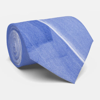Abstract Brush-strokes in Light Blue Tie