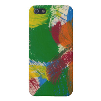 Abstract brushstroke painting on  iPhone 5 case