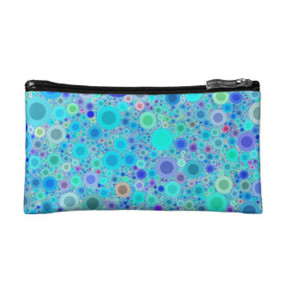 Abstract Bubbles Cosmetic Bag