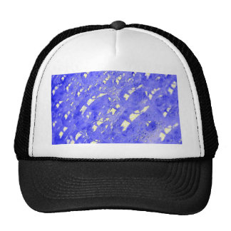 Abstract - Bubbles jpg Mesh Hat