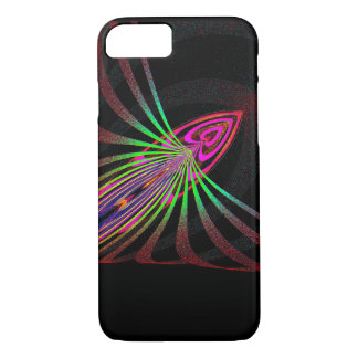 Abstract bug bud iPhone 7 case