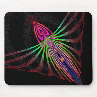 Abstract bug bud mousepad