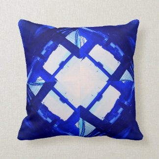 Abstract buildings decorative cushion