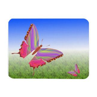 Abstract Butterflies Premium Magnet