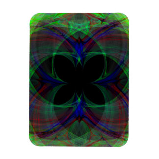 Abstract Butterfly 2 Rectangle Magnet