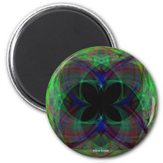 Abstract Butterfly 2 Refrigerator Magnet