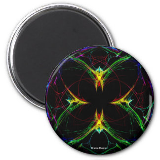 Abstract Butterfly 3 Magnet