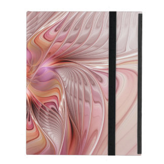 Abstract Butterfly Colorful Fantasy Fractal Art iPad Covers