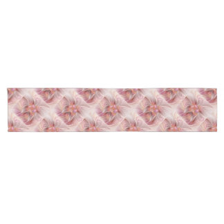 Abstract Butterfly Colorful Fantasy Fractal Art Short Table Runner