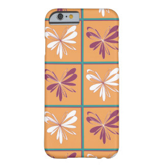 Abstract Butterfly Design Barely There iPhone 6 Case