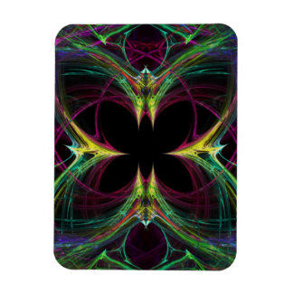 Abstract Butterfly Rectangular Magnets