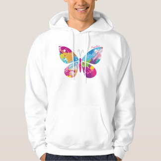 Abstract Butterfly Hoodie