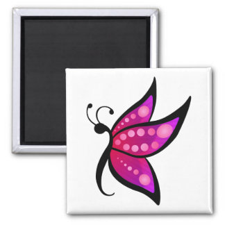 Abstract Butterfly Fridge Magnets