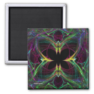 Abstract Butterfly Refrigerator Magnet