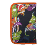 Abstract Butterfly Rickshaw Folio Planner
