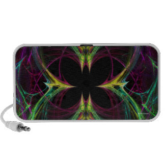 Abstract Butterfly Mp3 Speakers