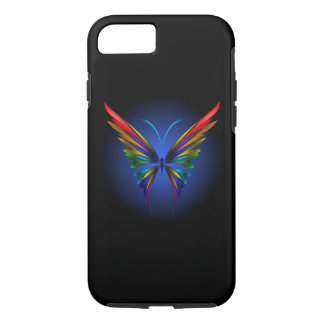 Abstract Butterfly Tough iPhone 7 Case