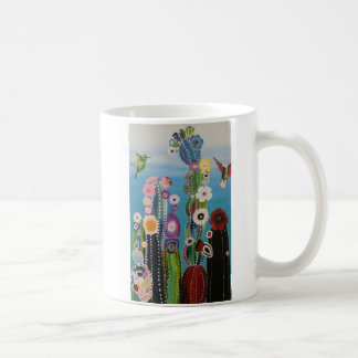 Abstract Cactus Mug