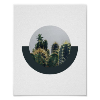 Abstract Cactus Poster 2 | 8x10