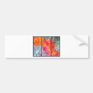 Abstract Called Bliss Bumper Sticker