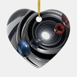 Abstract Camera Lens Christmas Ornament